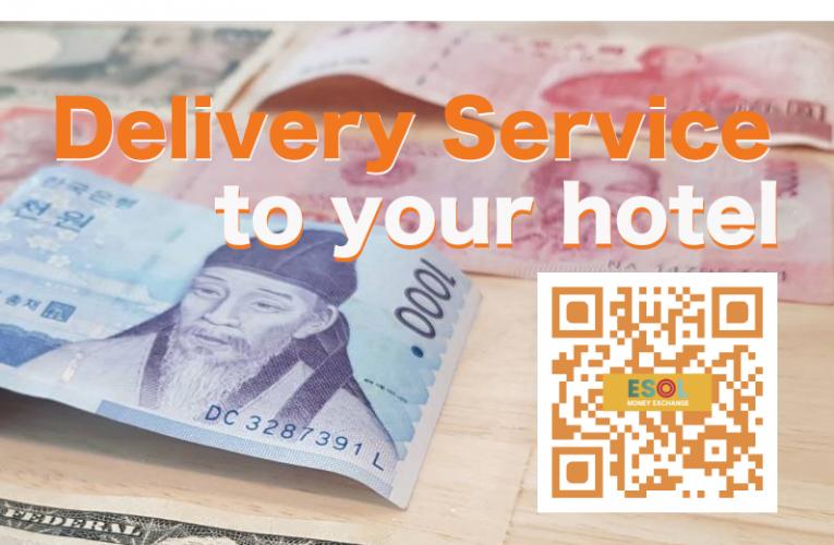Delivery exchange money Service